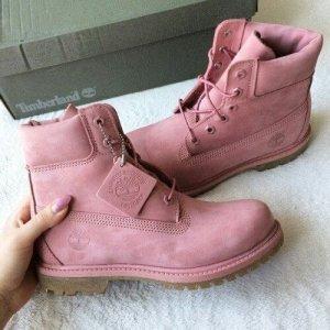 Timberland Schnürstiefel pink Casual-Look
