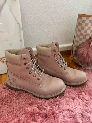 Timberland Lace-up Boots light pink-pink