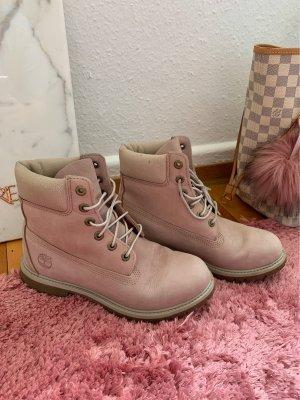 Timberland Aanrijg laarzen lichtroze-rosé