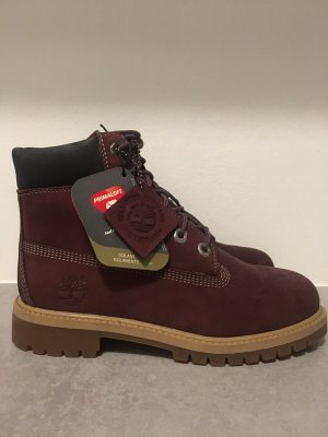 Timberland Winter Boots bordeaux