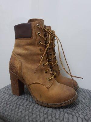 Timberland Schuhe gr.37 Stiefel Stiefeletten Schnürstiefelette