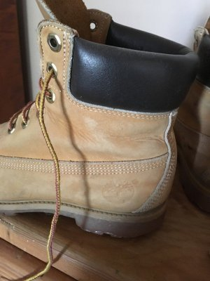 Timberland Aanrijg laarzen lichtbruin Leer