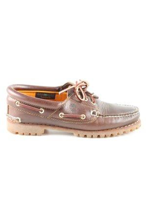 Timberland Zapatos de marinero marrón look casual