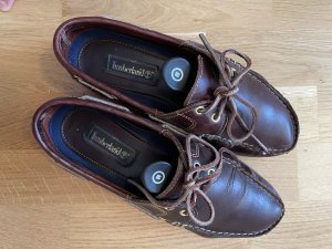 Timberland Sailing Shoes brown leather