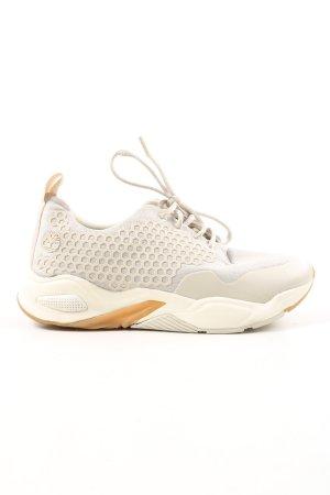 Timberland Chaussure skate gris clair-blanc cassé style décontracté