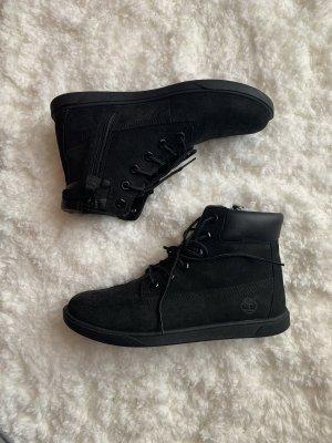 Timberland High top sneaker zwart