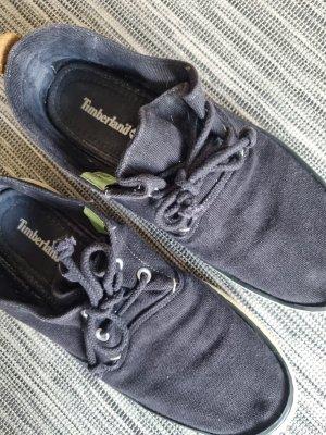 Timberland Sneaker aus Stoff in Schwarz