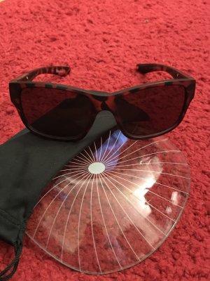 Timberland Angular Shaped Sunglasses black-brown