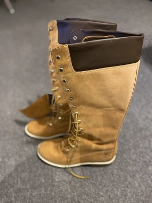 Timberland Lace-up Boots gold orange