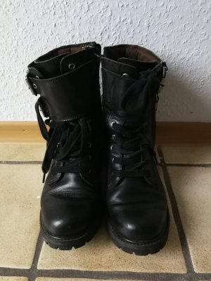 Timberland Botas con cordones negro
