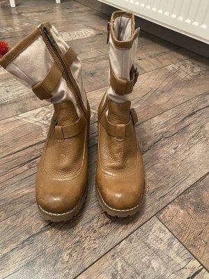 Timberland Short Boots light brown