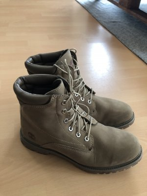 Timberland Stiefel Boots Stiefeletten beige grau braun camel Schuhe