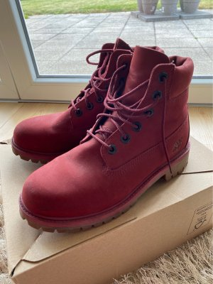 Timberland Cothurne rouge carmin