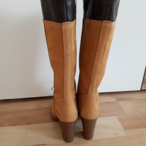 Timberland Heel Boots sand brown-dark brown