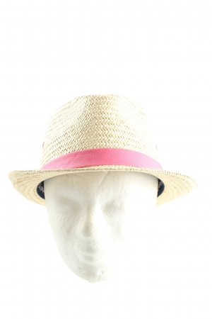 Timberland Straw Hat natural white-pink casual look