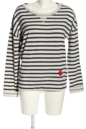 Timberland Sweatshirt noir-blanc moucheté style décontracté