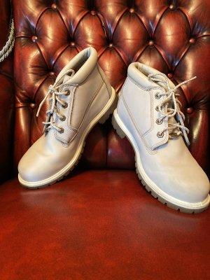 Timberland Botas de tobillo crema
