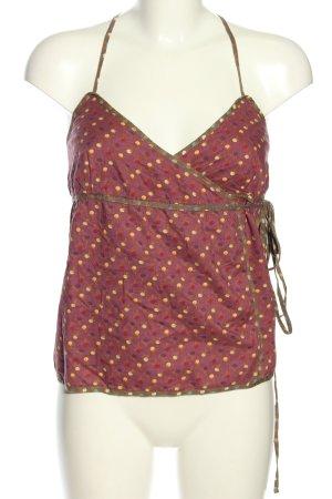 Timberland Kopertowa bluzka Wzór w kropki W stylu casual
