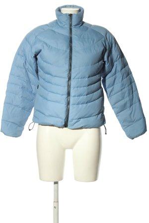 Timberland Winterjacke blau Steppmuster Casual-Look