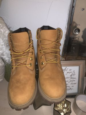 Timberland Winter Boots gold orange