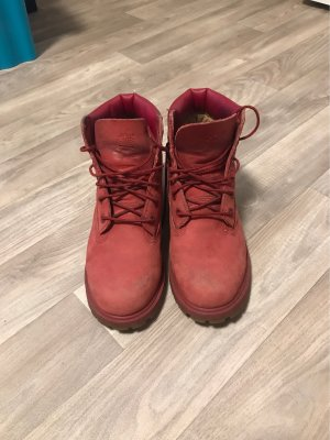 Timberland Snow Boots dark red