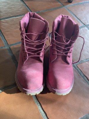 Timberland Chukka boot rose cuir