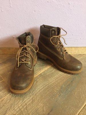 Timberland Stivale a gamba corta marrone scuro-marrone