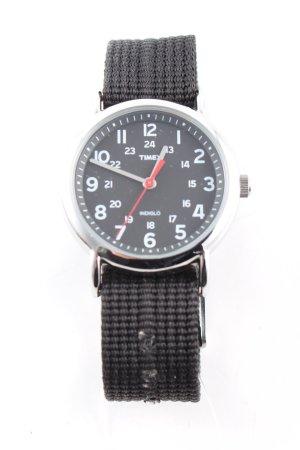 Timex Automatikuhr schwarz Business-Look