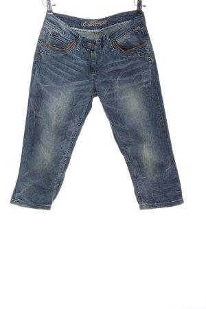 Timezone Jeans 3/4 bleu style décontracté