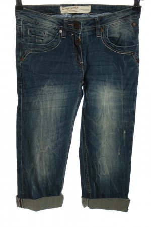 Timezone 3/4 Jeans blau Casual-Look