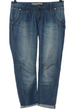 Timezone Jeans 7/8 bleu style décontracté