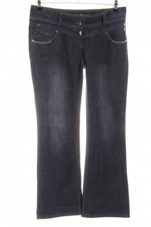 Timezone Boot Cut Jeans schwarz Casual-Look
