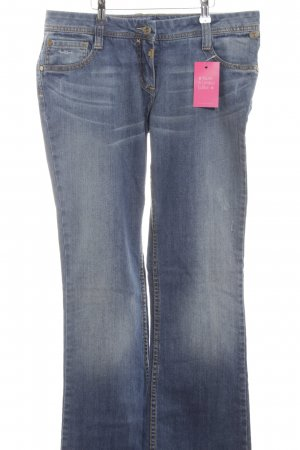 Timezone Boot Cut Jeans blau Casual-Look