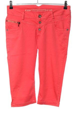 Timezone Pantalon capri rose style décontracté