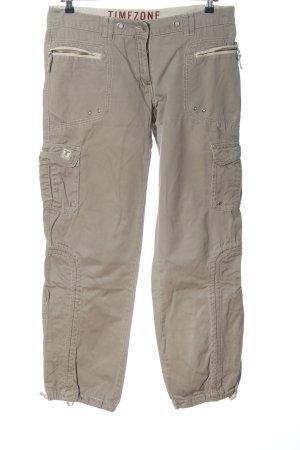 Timezone Pantalone cargo bianco sporco stile casual