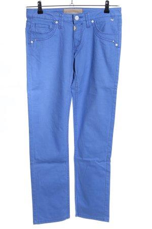 Timezone Five-Pocket-Hose blau Casual-Look