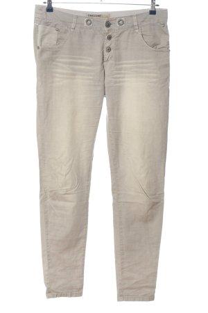 Timezone Pantalon cinq poches gris clair style décontracté