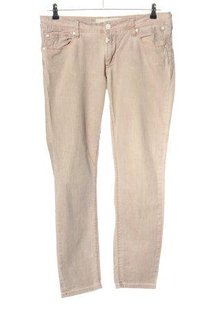 Timezone Pantalon cinq poches blanc cassé style décontracté