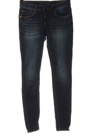 Timezone Jeans a vita alta blu stile casual