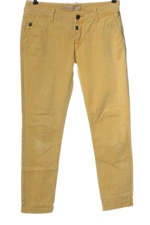 Timezone Jeans taille basse jaune primevère style décontracté