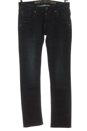 Timezone Jeans taille basse noir style décontracté