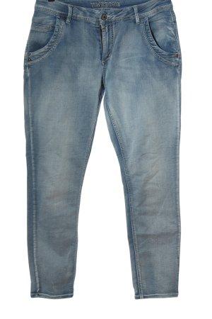Timezone Jeans taille basse bleu style décontracté