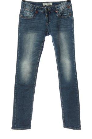 Timezone Jeansy biodrówki niebieski W stylu casual