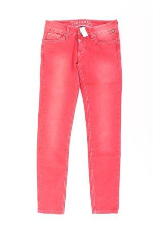 Timezone Jeans Größe W26 rot aus Baumwolle