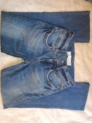 Timezone Pantalone a sigaretta blu scuro-blu acciaio