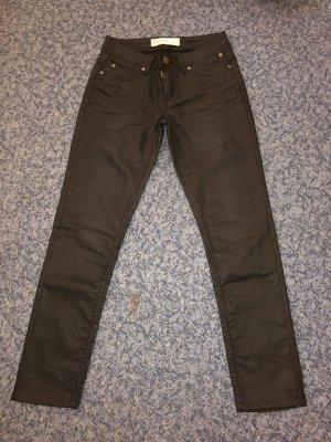 Timezone Jeans vita bassa nero