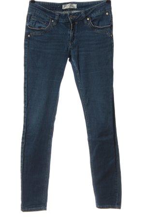 Timezone Jeans cigarette bleu style décontracté