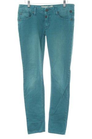Timezone Slim Jeans türkis Casual-Look