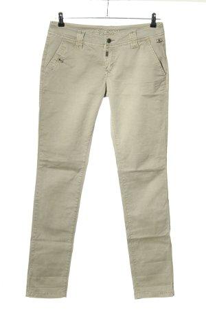 Timezone Pantalon en jersey blanc cassé style décontracté