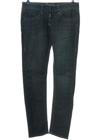 Timezone Slim Jeans blau Casual-Look